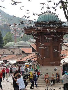 Sarajevo, Saraybosna başçarşı