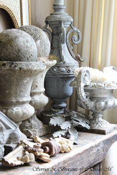 Many Urns House Ferns But not these Urns..........