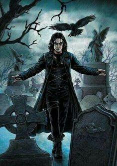 BROTHERTEDD.COM Dark Fantasy Art, Dark Art, Dark Gothic Art, Gothic Artwork, Crow Movie, I Movie, Dragons, Crow Art, Arte Dc Comics