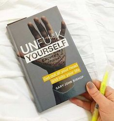 10 Books That Will Change The Way You Think Unfuck Yourself - hailey Book Club Books, Book Lists, Good Books, My Books, Reading Books, Book Nerd, Entrepreneur Books, Books To Read For Women, Life Changing Books