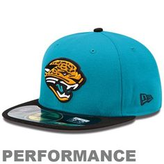 New Era Jacksonville Jaguars On-Field Performance 59FIFTY Fitted Hat