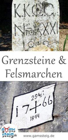 Historische Grenzsteine Und Felsmarchen Im Bayerischen Alpenraum Zeugen Vergangener Herrschaften