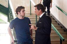 Still of Pierce Brosnan and Robert Pattinson in Remember Me