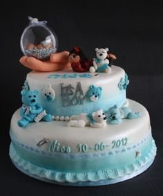 geboorte taart By Nancydevries on CakeCentral.com
