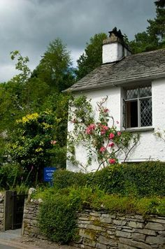 Dove Cottage and the Wordsworth Museum, Grasmere, Cumbria, England. The one time home of poet William Wordsworth now a museum. Closed January and early Febuary