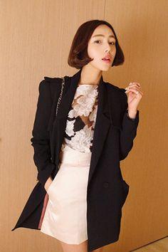 Korean, Blazer, Jackets, Fashion, Down Jackets, Moda, Korean Language, Fashion Styles, Blazers