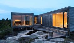 Summerhouse Inside Out Hvaler by Reiulf Ramstad Arkitekter Houses Architecture, Architecture Design, Scandinavian Architecture, Scandinavian Home, Residential Architecture, Architecture Interiors, Cabin Design, Modern House Design, Nordic Design