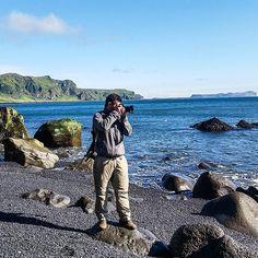 Quem gosta de fotografar paisagens não pode deixar de conhecer a Islândia.   Reynisfjara Beach - Iceland  Setembro/2015  #NerdsNaIslândia