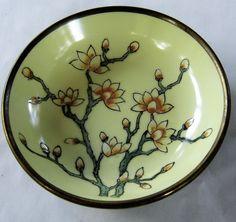 Vintage ACF Japan Porcelain Ware Brass-Encased Bowl  | eBay