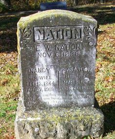 Western Kentucky Genealogy Blog: Tombstone Tuesday - E.W. Nation #genealogy