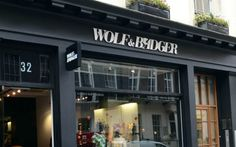 Wolf & Bagder store
