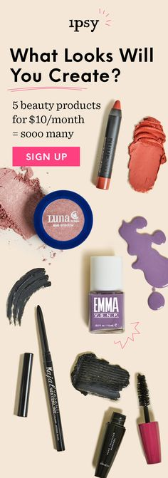 Don't miss out on best-selling brands! For a limited time, there's no waitlist. Our last Glam Bag had best-selling faves from Colourpop, Smashbox, Benefit, IT Cosmetics, MAKE UP FOR EVER, NYX and more. Sign up now.