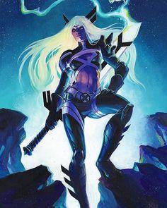 Magik Meghan Hetrick art Key Film Dates:: Marvel - Avengers: Infinity War: Apr 27, 2018 - Deadpool 2: May 18, 2018 - Ant-Man & The Wasp: Jul 6, 2018 - Venom : Oct 5, 2018 - X-men Dark Phoenix : Nov 2,...