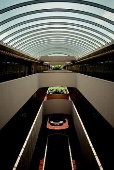 Marin Civic Center by Frank Lloyd Wright