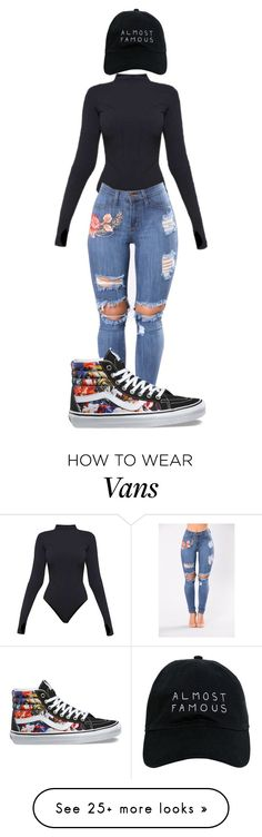 """""""Untitled #513"""" by shiane816 on Polyvore featuring Ivy Park, Vans and Nasaseasons"""