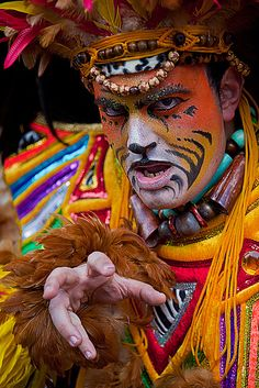 Gozo Carnival This photo was taken at the carnival parade in Victoria, Gozo island 2011 (Malta)