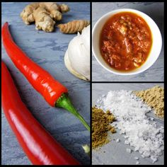 Vegane rote Currypaste