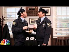 Point Pleasant Police Department with Jake Gyllenhaal and Jimmy Fallon...I cried from laughing so hard. It's really stupid and gross but for some reason, I found it to be hilarious.