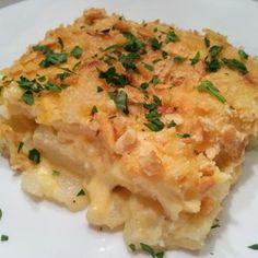 Parmesan-Crusted Au Gratin Potatoes and Onion - Allrecipes.com