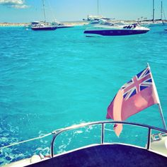Boat for the day to Formentera ❤ http://instagram.com/p/c08-QoDOjF/