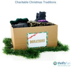 This guide is about charitable Christmas traditions. Sharing with others less fortunate than ourself makes our communities healthier.