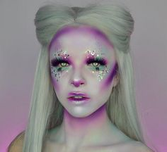 WEBSTA @ kimberleymargarita_ - Lil bun bun  What's your favourite animal? Wanted to do a bunny kinda look for spring. Should I do a tutorial on this?? Hope you're having the best weekend!!! Used all @starcrushedminerals shadows for this look in rockin robin, pink Cadillac, lilac lustre and royal rage, code KIMBERLEY for 50% off  (@makeupforeverca flash palette for the base and glitter is @jazzy_glitter, lashes are raven from @unicornlashesuk)
