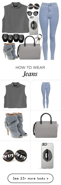"""""""Untitled #753"""" by natallie on Polyvore featuring Topshop, Monki, MICHAEL Michael Kors, Eichholtz, Maison Margiela, Lipsy, Quay and CB2"""