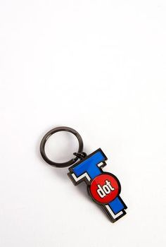 T Dot Icon Keychain - Main and Local Dot Icon, Dots, Personalized Items, Accessories, Stitches, The Dot, Polka Dots, Polka Dot