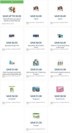the latest rite aid load2card coupons... http://www.iheartriteaid.com/2017/01/load2card-coupons-011317.html #riteaid #couponing #couponcommunity
