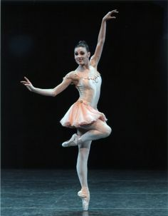 "NYCB's Tiler Peck embodying ""flirty"" in Balanchine's Who Cares?"