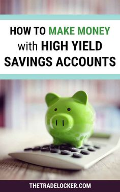 Wondering about high yield savings accounts and whether they are worth it? Learn how you can make money with compound interest by depositing your money into a high yield savings account plus tips for getting the best return on your investment. High Yield Savings Account, Money Market Account, High Interest Savings Account, Savings Accounts, Accounting 101, Savings And Investment, Savings Planner, Budget Planer, Finance