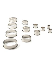Look at this #zulilyfind! Round 12-Piece Cutter Set by Ateco #zulilyfinds