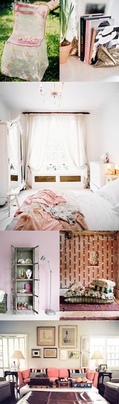 Love all this gorgeous pale pink