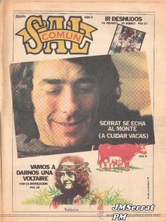 Joan Manuel Serrat News 15, Cards, Amor, Maturity, Musica, Youth, Memories, Journals, Singers