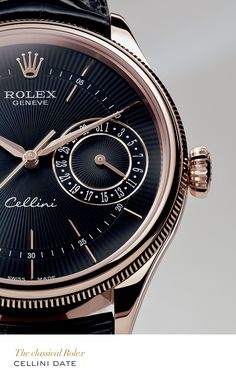 Rolex Cellini Date. Perché un Cellini non è un Rolex! Dream Watches, Fine Watches, Sport Watches, Cool Watches, Rolex Watches, Watches For Men, Wrist Watches, Stylish Watches, Audemars Piguet