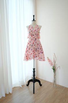 Extravagant Wedding Dresses, Country Dresses, Short Dresses, Summer Dresses, Floral Sundress, Dress Collection, Dress Making, Pink Dress, Vintage Dresses