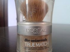 Makeup: L'oreal True Match Minerals foundation Review:  He...