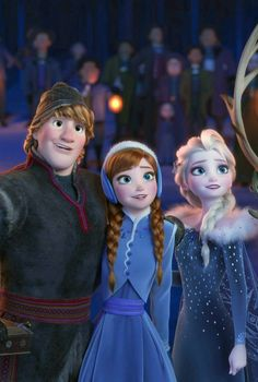 Here's Something to Sing About — Frozen 2 Will Be Here Sooner Than You Think - - An interesting post from POPSUGAR Entertainment. Check it out! Frozen Disney, Princesa Disney Frozen, Olaf Frozen, Disney Pixar, Anna Y Elsa, Frozen Elsa And Anna, Anna Kristoff, Frozen Wallpaper, Cute Disney Wallpaper