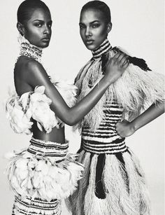 Josilyn Williams, Maria Borges, Riley M & others for Numero March 2014