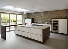 17 Outstanding Examples How To Decorate Modern Kitchen