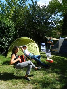 Camping de troyes - capital of champagne region