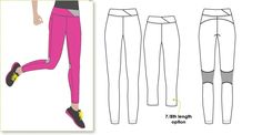 Monica Pant Sewing Pattern By Style Arc