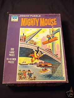 Mighty Mouse Jigsaw Puzzle