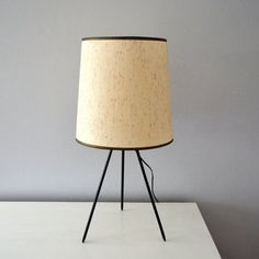 Vintage Tripod Lamp Table Lighting Mid by saltandginger Desk Light, Light Table, Table Lighting, Lighting Design, Ocean Bedroom, Made In Japan, Tripod Lamp, Love And Light, Mid-century Modern