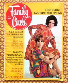 Old Magazines, Vintage Magazines, Vintage Photos, Family Circle, Winter Salad, Budget Fashion, Good Notes, Teen Models, Good Housekeeping