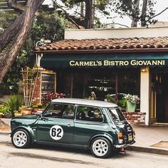 ・・・ British Racing Green Shot by Mini Cooper Classic, Classic Mini, Mini Cooper Sport, Classic Cars, Classic Auto, Vintage Racing, Vintage Cars, Mini Uk, Green Shot