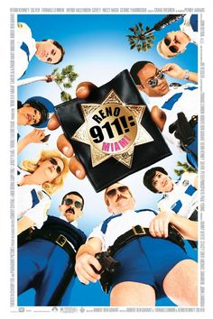 Watch Reno 911 Miami Online For Free. A rag-tag team of Reno cops are called in to save the day after a terrorist attack disrupts a national police convention in Miami Beach during spring break. Based on the Comedy Central series. Reno 911, Danny Devito Movies, We Movie, Original Movie Posters, Comedy Central, Movie Theater, Movies To Watch, Movies Online, Movies And Tv Shows