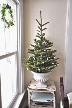 awesome 48 Inspiring Home Decoration Ideas with Small Christmas Tree  https://homedecorish.com/2017/11/09/48-inspiring-home-decoration-ideas-with-small-christmas-tree/