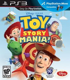 """Toy Story Mania for PS3 Move """"video Games""""  http://videogames.droid777.com/"""