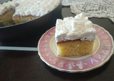 Greek Cake, Greek Recipes, Vanilla Cake, Food To Make, Food And Drink, Sweets, Desserts, Foods, Syrup
